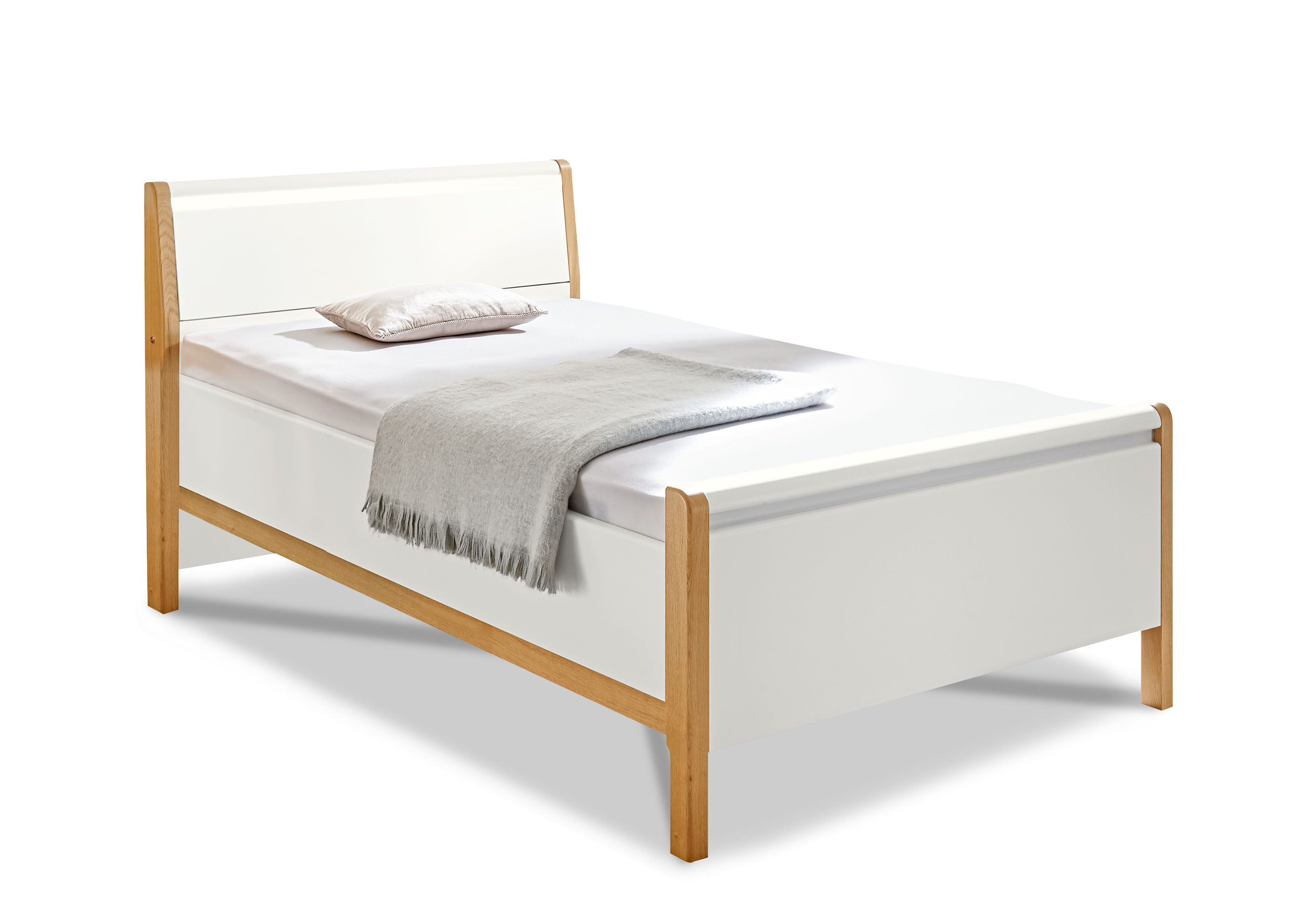 bett molto comfort kristall grau eiche. Black Bedroom Furniture Sets. Home Design Ideas