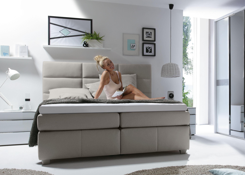 boxspringbett supreme comfort schlamm. Black Bedroom Furniture Sets. Home Design Ideas