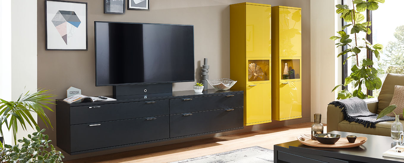 tv lowboard f rs wohnzimmer mondo jetzt entdecken. Black Bedroom Furniture Sets. Home Design Ideas
