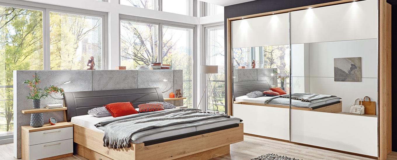 Schwebetürenschrank im Schlafzimmer | MONDO® jetzt entdecken