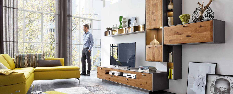 wohnwand in vielen designs mondo jetzt entdecken. Black Bedroom Furniture Sets. Home Design Ideas