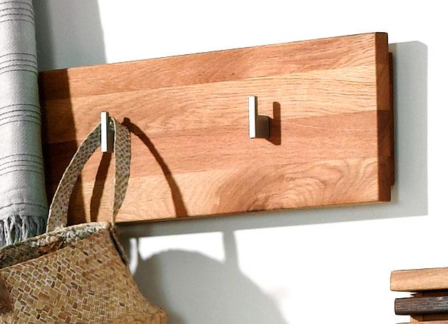 hakenleiste purea eiche massiv naturbelassen ge lt. Black Bedroom Furniture Sets. Home Design Ideas